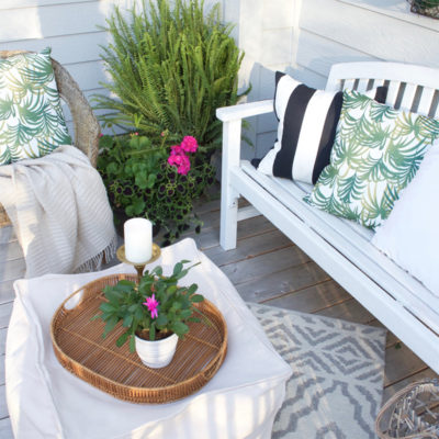 Easy Outdoor Deck