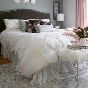 Master Bedroom Refresh with eSale Rugs   Part 2