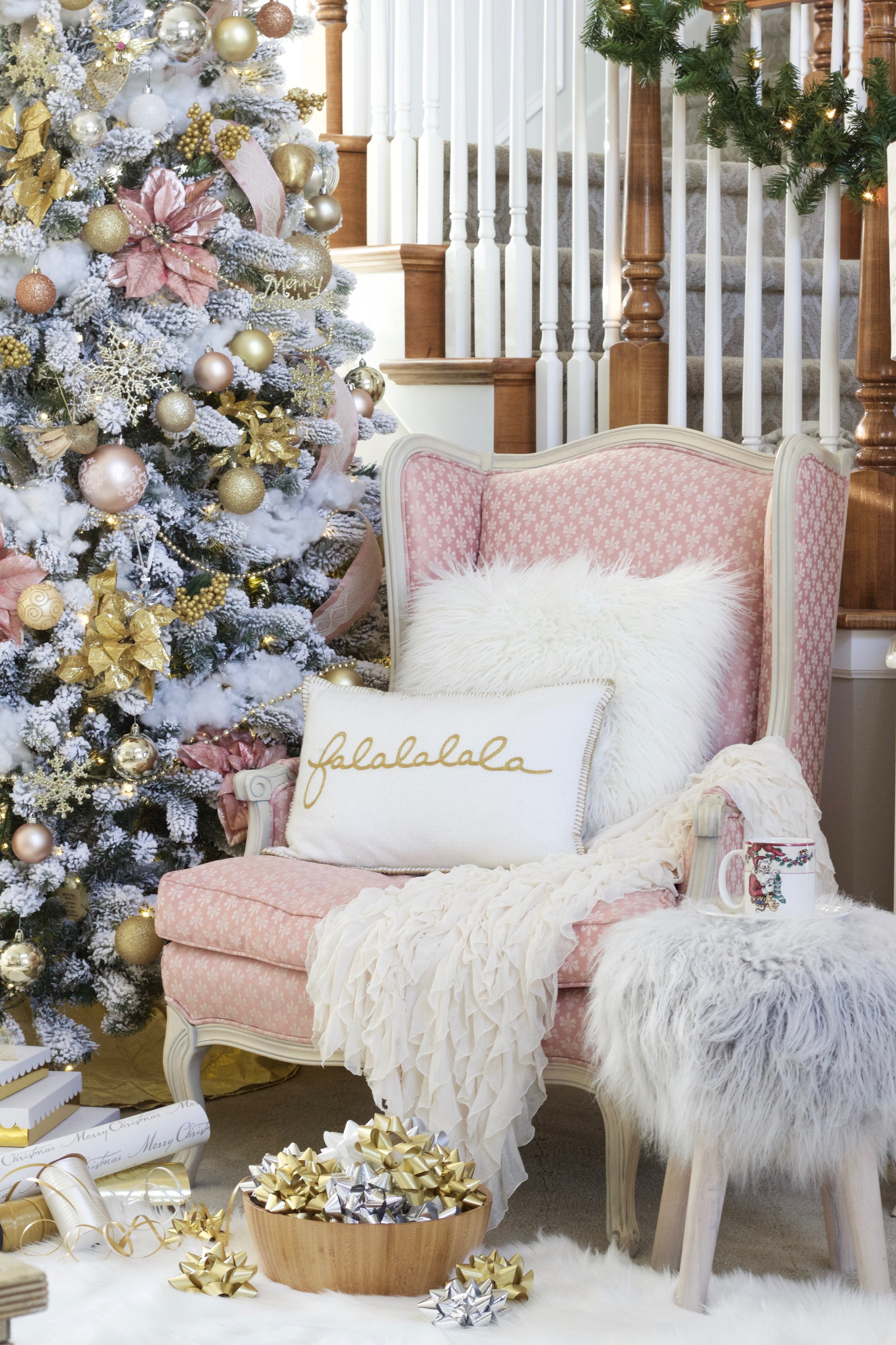 Christmas Home Tour 2017 Styled With Lace