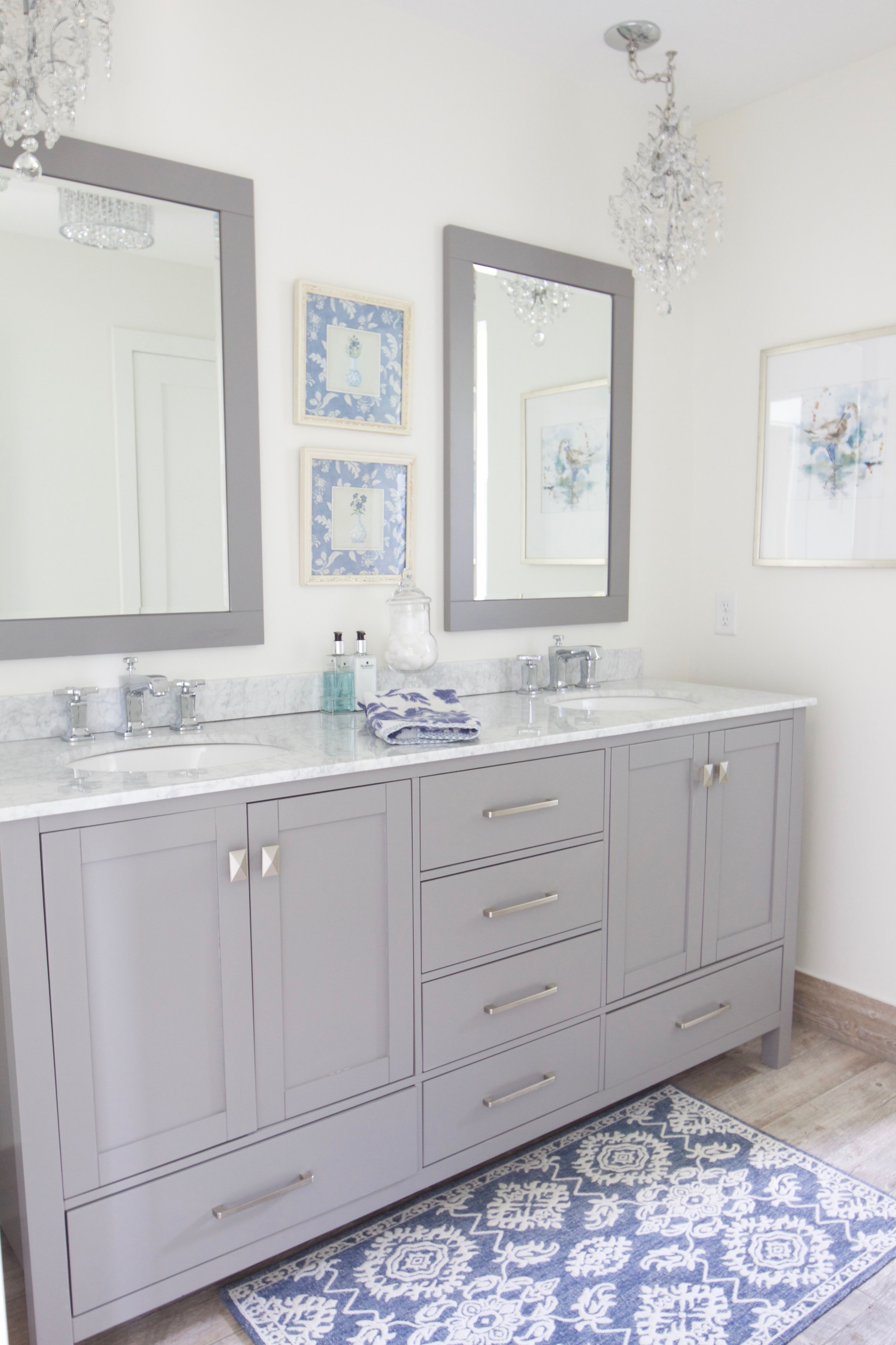 Lake Home Remodel Bathroom Reveal Styled With Lace - Bathroom maker