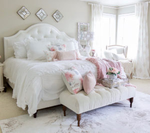 Romantic Summer Bedroom Refresh