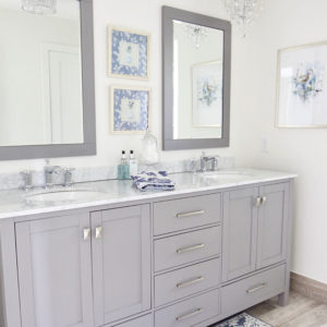 Lake Home Remodel Bathroom Reveal