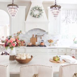 Fall Home Tour with Touches of Mauve and Copper