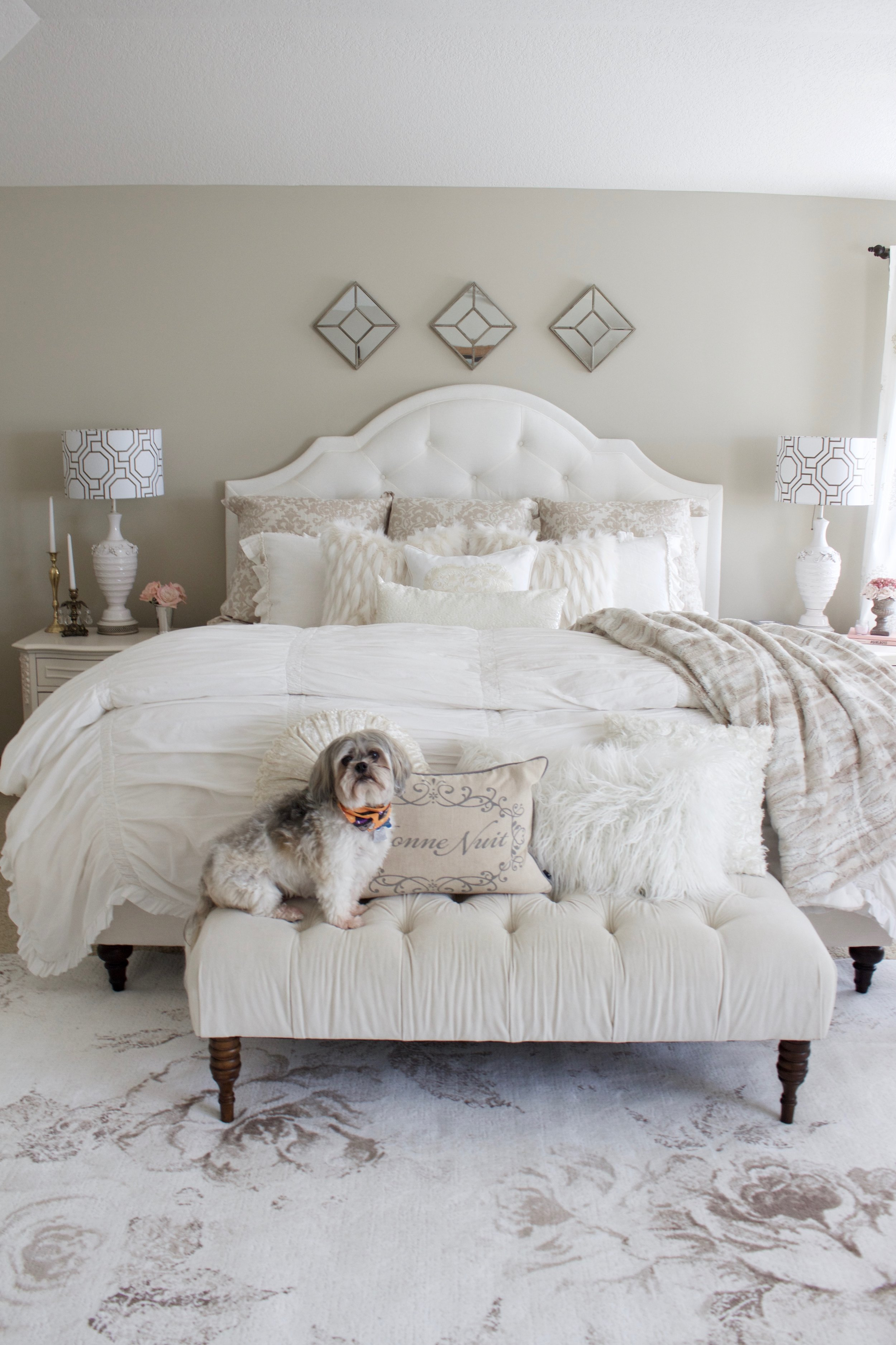 Master Bedroom Refresh with eSale Rugs | Part 1 - Styled ...