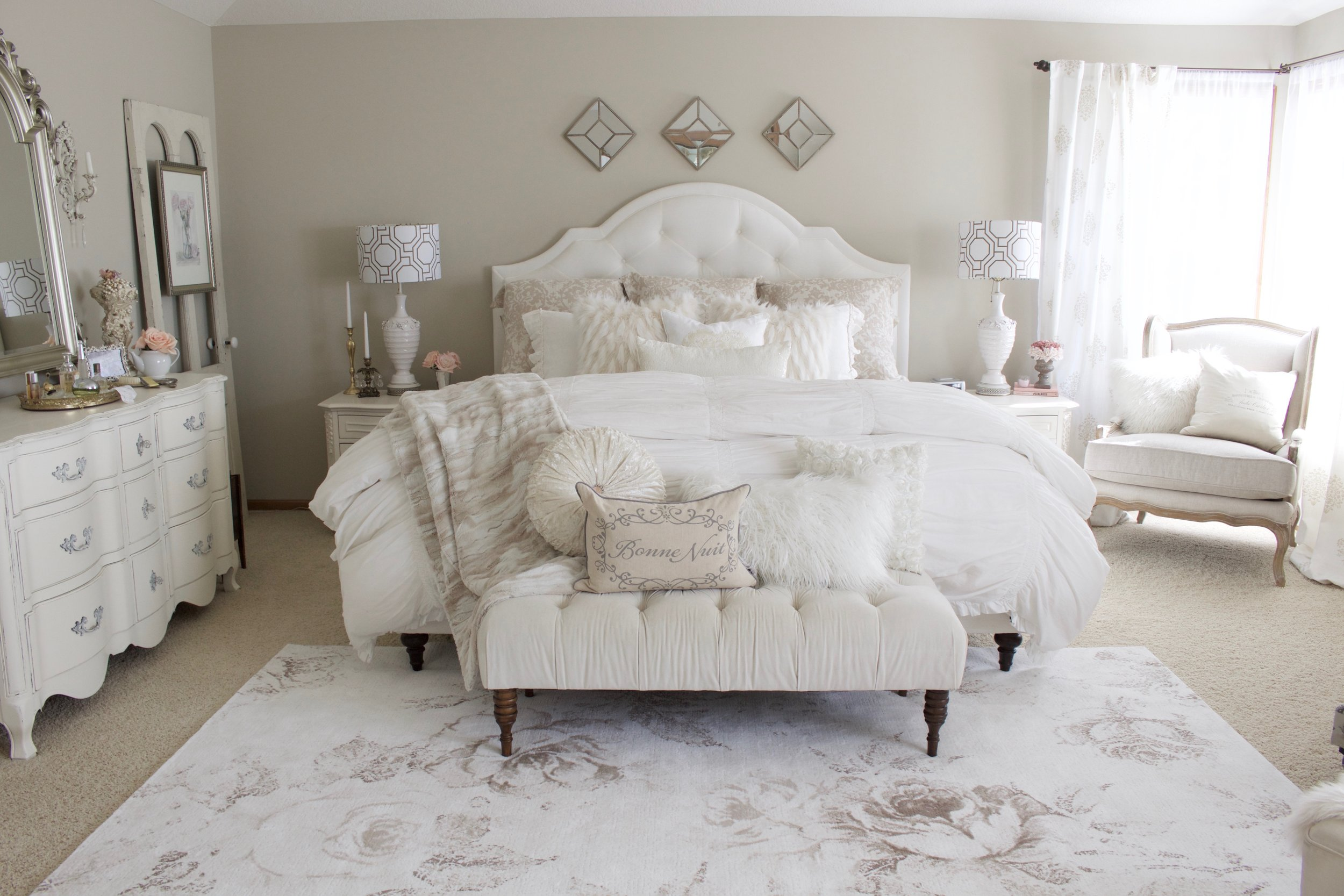 Master Bedroom Refresh With Esale Rugs Part 1 Styled