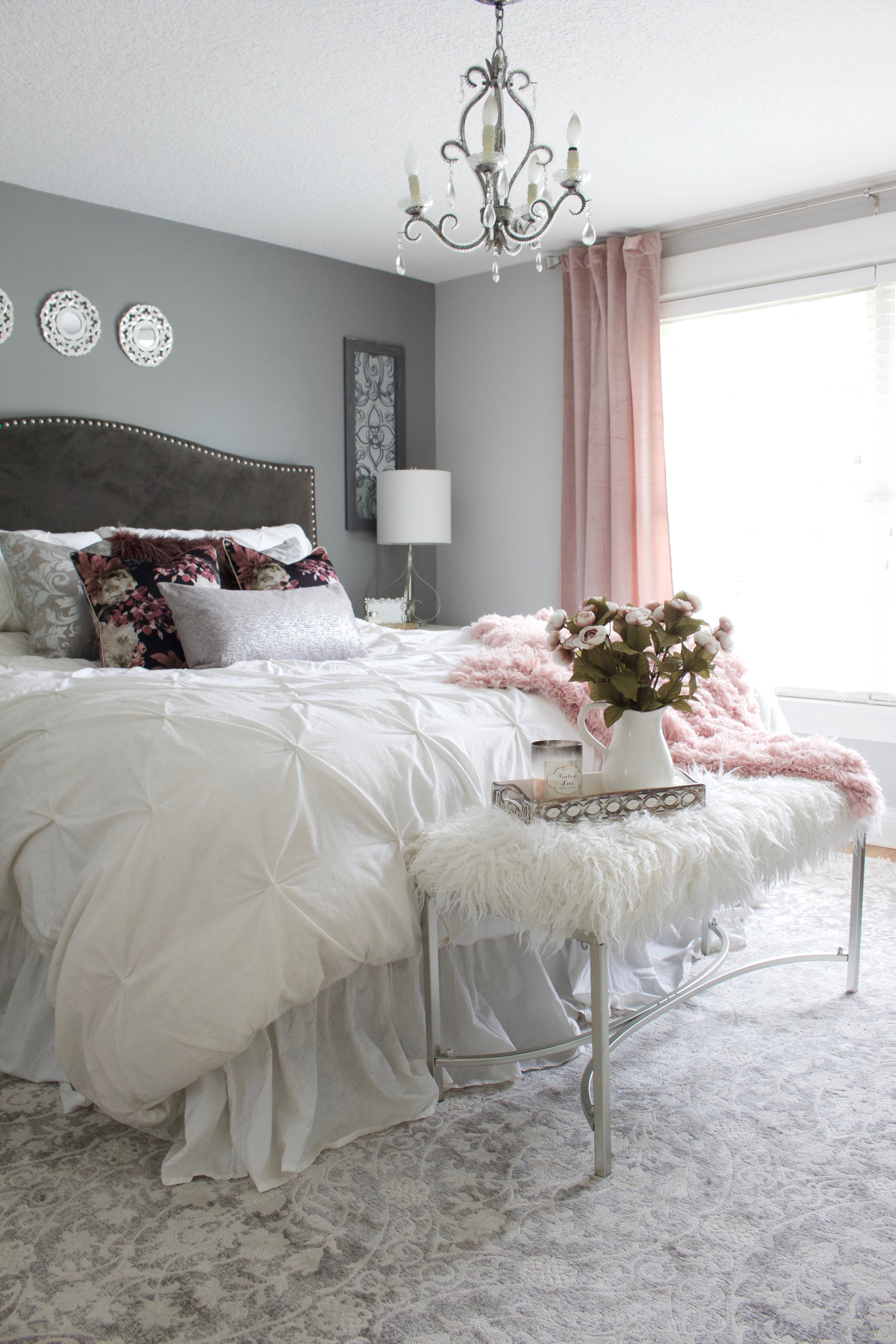 Master Bedroom Refresh with eSale Rugs | Part 2 - Styled ...
